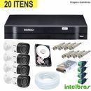 Kit-Cftv-Com-04-Cameras-HDCVI---Dvr-04-Ch-HDCVI-Tri-Hibrido-1004-Intelbras-Com-HD