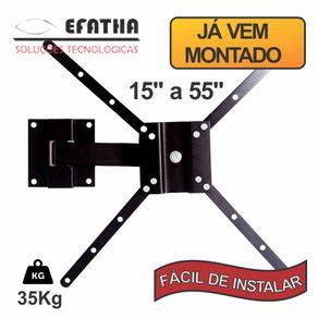 Suporte-para-Tv-Slcd-Bi-Articulavel-de-15--ate-55--Efatha