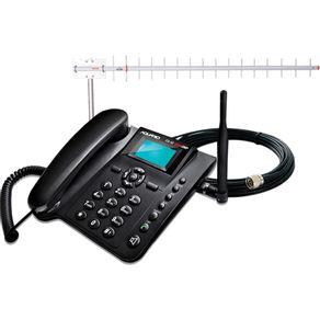 Kit-Celular-Rural-Ca-902-Dual-Chip---Antena-CF917---Cabo-15-metros-Aquario