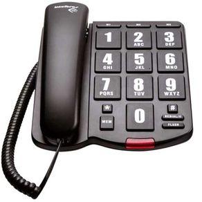Telefone-com-fio-Intelbras-Tok-Facil-com-teclas-grandes