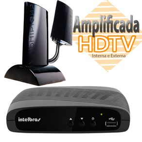 Kit-Conversor-e-Gravador-Digital-Intelbras-e-Antena-Proeletronic