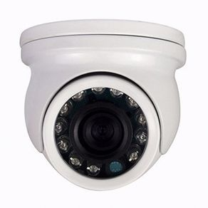 Micro-Camera-Dome-Top-Cam-900L-HD-12-Leds-Lente--2.8mm-Alcance-10-metros-em-Ferro-Sl-68lcd12