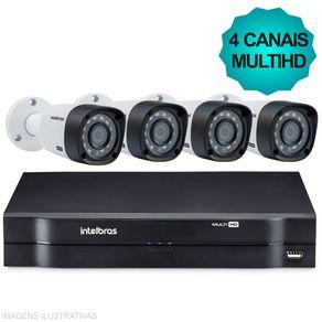 Kit-Cftv-Intelbras-MultiHD-Dvr-4Ch---4-Cameras-1010B