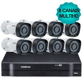 Kit-Cftv-Intelbras-MultiHD-Dvr-8Ch---8-Cameras-1010B-G3
