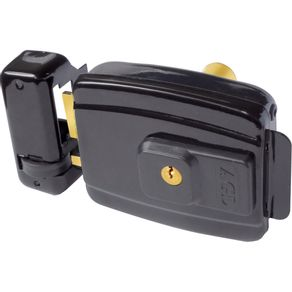 Fechadura-Eletrica-AGL-Al100-chave-simples-abertura-interna-12v-ou-110v-Preta
