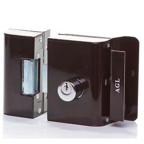 Fechadura-Eletrica-AGL-12V-para-porta-de-madeira-e-portao