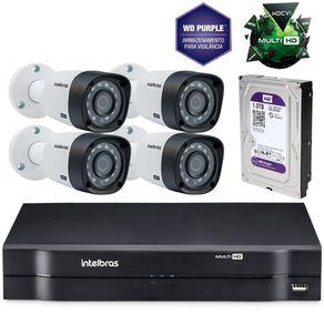 Kit-Cameras-de-seguranca-Intelbras-MultiHD-DVR-8c---4-cameras-1010B-G3---HD-Western-Purple-1Tb