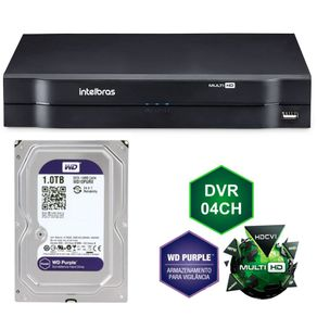 Kit-Dvr-Stand-Alone-Intelbras-4c-MHDX1004-G3---HD-1Tb-WD-Purple