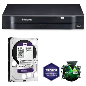 Kit-Dvr-Stand-Alone-Intelbras-16c-MHDX1016-G3---HD-2Tb-WD-Purple