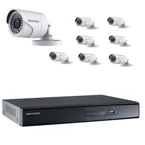 Kit-Cftv-Hikvision-DVR-16C-1080p---8-Cameras-1080p