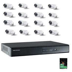 Kit-Cftv-Hikvision-DVR-16C-1080p---16-Cameras-1080p---HD-3Tb