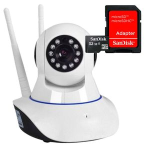 Kit-Camera-Ip-1-MP-720p-HD-Wireless-Wifi-Audio-P2p-Com-Cartao-de-Memoria-32gb