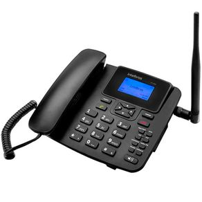 Telefone-Celular-Fixo-GSM-Intelbras-CF-4201