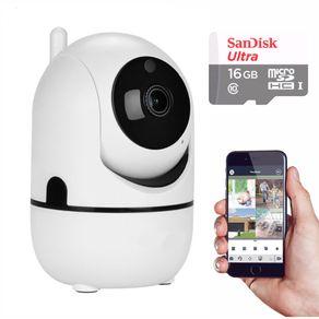 Kit-Camera-IP-Wifi-Varredura-Automatica-HD-960P-com-Audio-e-Cartao-16GB