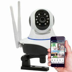 Camera-IP-sem-Fio-360°-Wifi-2-antenas-HD-Pantilt-Onvif-Visao-Noturna-com-Audio-Grava-em-Cartao-Sd