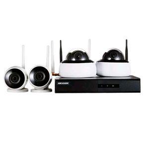 Kit-de-Monitoramento-FullHD-Hikvision-Nvr-4bd-Wifi---2-Cameras-bullet---2-cameras-dome-alcance-30m---1-Nvr-Wifi-e-HD-1TB