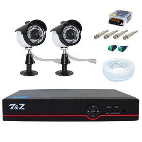 15490-kit-2-cameras-analogicas-dvr-6-em-1-acessorios