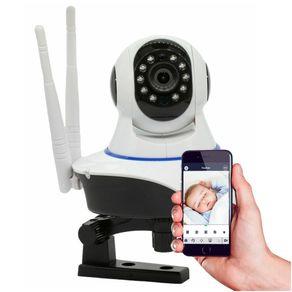 Camera-IP-sem-Fio-Baba-Eletronica-360°-Wifi-2-antenas-HD-720p-Pantilt-11-Leds-Onvif-Visao-Noturna-com-Audio-Grava-em-Cartao-Sd