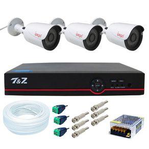 Kit-03-Cameras-de-Seguranca-4-em-1-Full-HD---Dvr-04-Canais-6-em-1--FullHD--IP-Ahd-Analogico-Hdtvi-Hdcvi----Acessorios