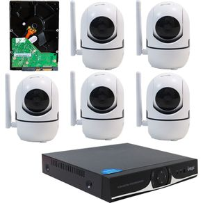 13034-Kit-IP-WIFI-Completo-DVR-04-Canais---05-Camera-IP-HD-720P-Wifi----HD-320GB