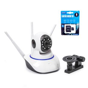 KIT-CAMERA-IP-WIFI-3-ANTENAS-1080P-FULL-HD---CARTAO-DE-MEMORIA-8GB-COM-ADAPTADOR