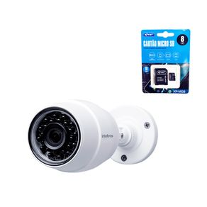 KIT-CAMERA-IP-INTELBRAS-WIFI-HD-IC5---CARTAO-DE-MEMORIA-8GB-COM-ADAPTADOR