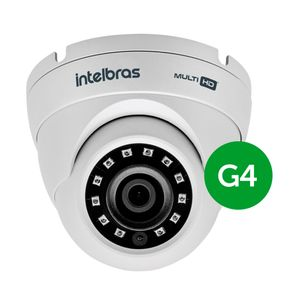 Camera-infravermelho-Dome-Multi-HD-Intelbras-VHD-3120D-G4-Ir-20-metros-Lente-2.6mm