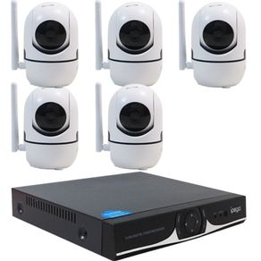 Kit-IP-WIFI-DVR-04-Canais---05-Camera-IP-HD-720P-Wifi