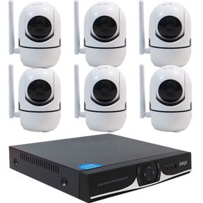 Kit-IP-WIFI-DVR-04-Canais---06-Camera-IP-HD-720P-Wifi