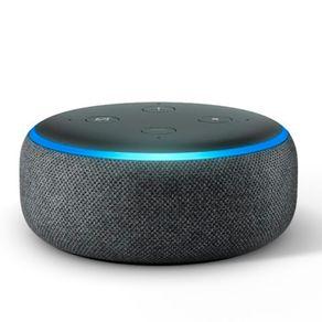 Smart-Speaker-com-Alexa-Echo-Dot--3ª-Geracao----Cor-Preta