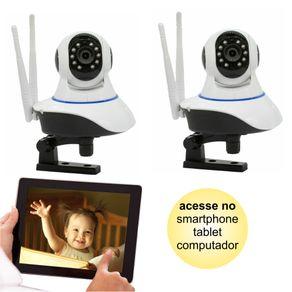 Kit-02-Cameras-de-Seguranca-IP-sem-Fio-Wifi-HD-720p-Robo-Wireless-com-audio-Onvif
