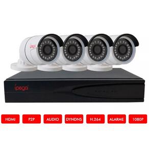 Kit-Dvr-04-Canais-5-em-1--CVI-AHD-TVI-IP-CVBS--ipega-KP-CA234-1080P-FullHD---4-Cameras-HD-720P-1MP
