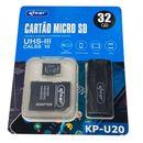 Cartao-de-Memoria-MicroSD-32GB-Knup-KP-U20-com-Adaptador-USB