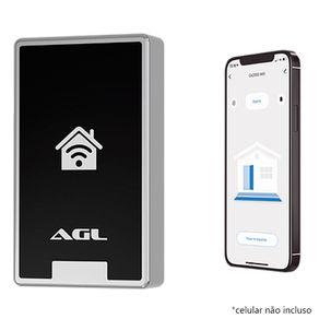 Controle-de-acesso-AGL-CA2000-abertura-via-cartao-de-proximidade-RFID-125Khz--ate-2.000-usuarios--e-via-Aplicativo-Wi-Fi-ou-Bluetooth