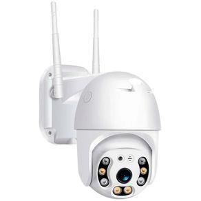 Mini-Speed-Dome-sem-fio-Wifi-Full-HD-1080p-Infravermelho-Colorido-a-Noite---IP66