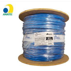bobina-cat6-copperlan-azul